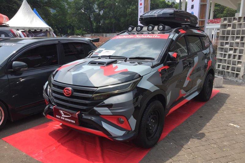 Daihatsu Sigra Modif