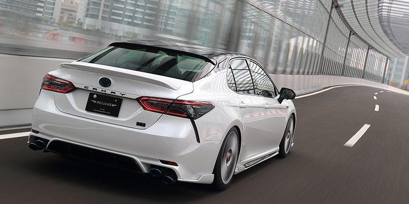 Toyota New Camry Karya Tuner Jepang Ini Mirip Mobil Sport